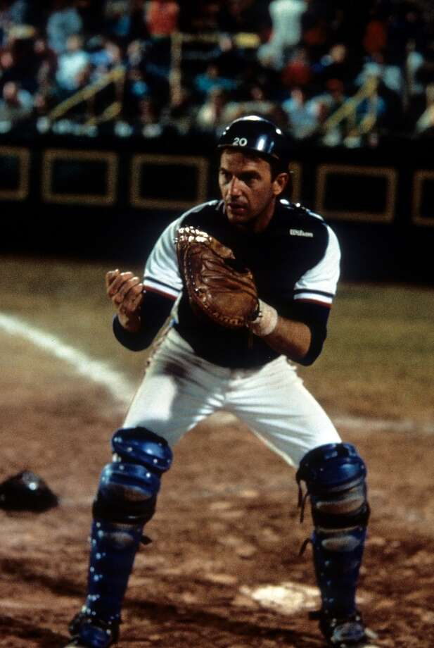 Backup catcher: Crash Davis (Kevin Costner) in Bull Durham Photo: Archive Photos, Getty Images / 2012 Getty Images