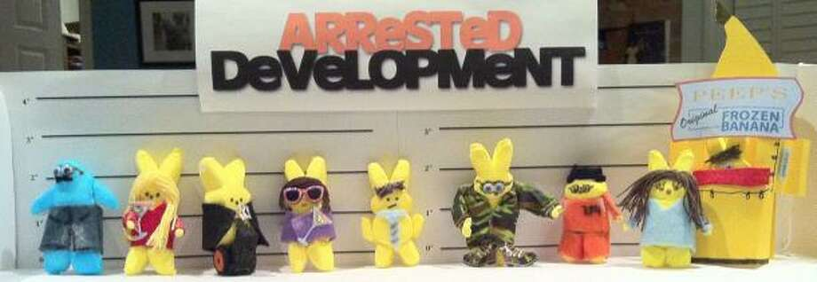 Arrested Development starring Peeps