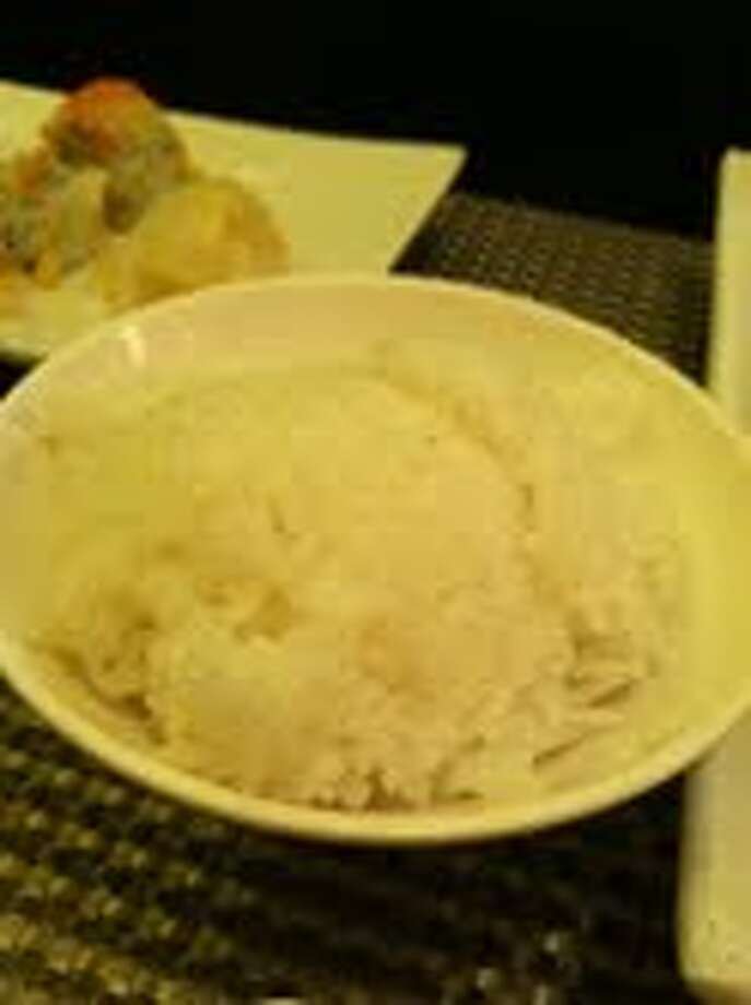 A bowl of sticky rice.