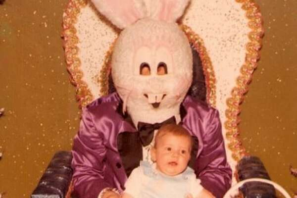 This young man celebrates Easter at his local Playboy Club.