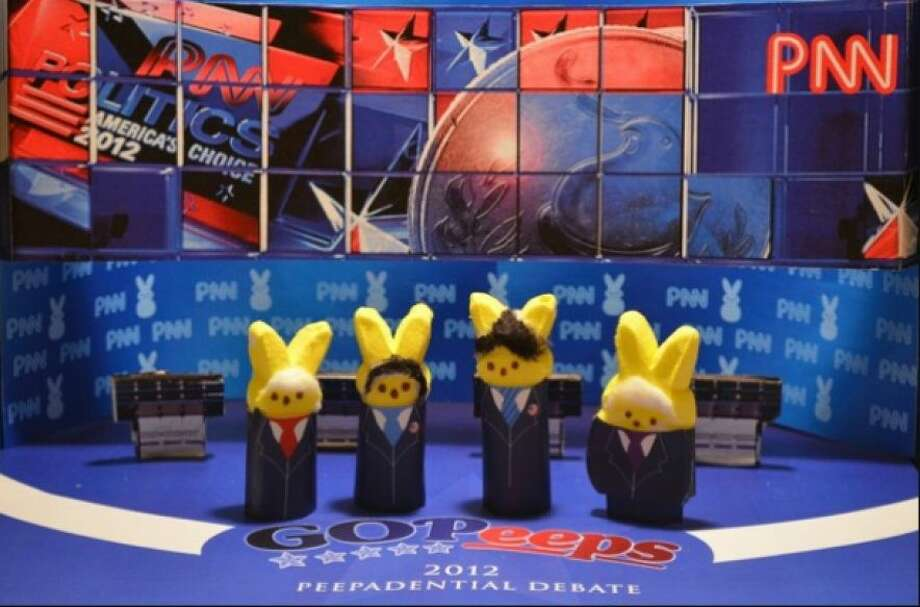 Republican Debate Peeps