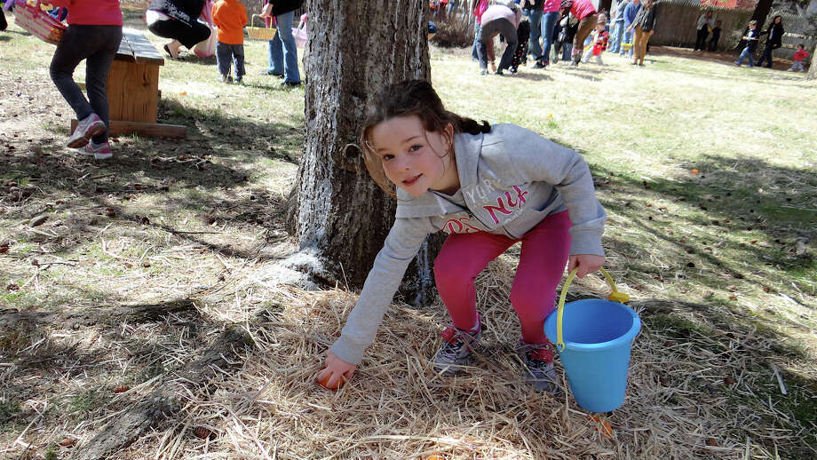 "The Stepping Stones in Norwalk is holding its ""Eggs-traordinary Egg-stravaganza"" on Saturday from 12:30 to 12:30. There will be an egg Roll Obstacle Course, dancing, egg decorating and more. Find out more.  Photo: Mike Lauterborn / Fairfield Citizen contributed"