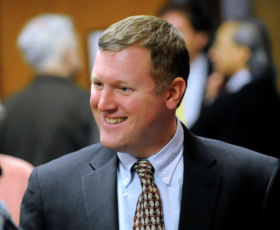 State Rep. Stephen Walko, R-150th District, during a Republican Town Committee meeting at Greenwich Town Hall Feb. 22, 2012. Photo: Bob Luckey / Greenwich Time