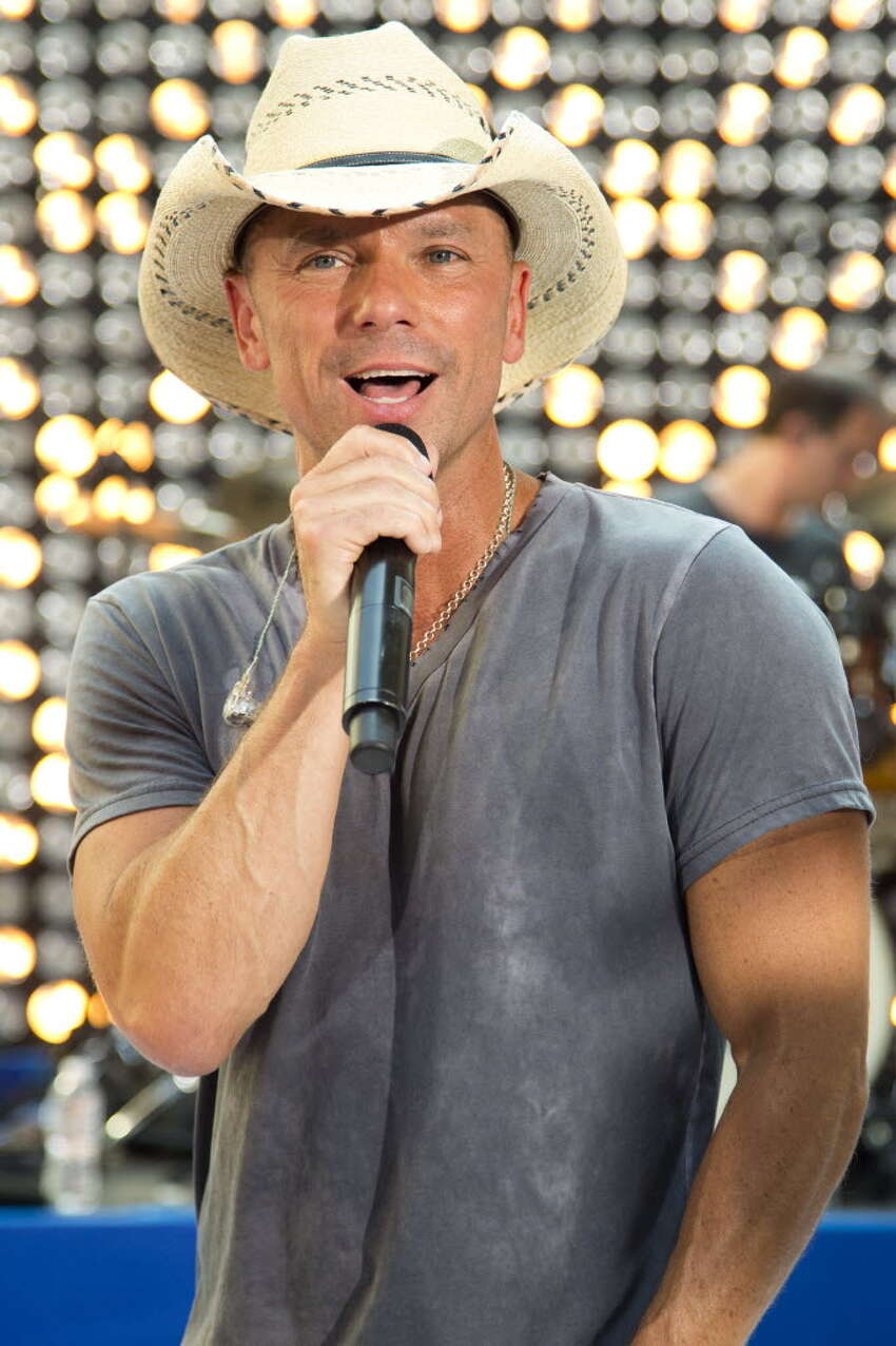 Kenny Chesney, shown here performing on NBC's