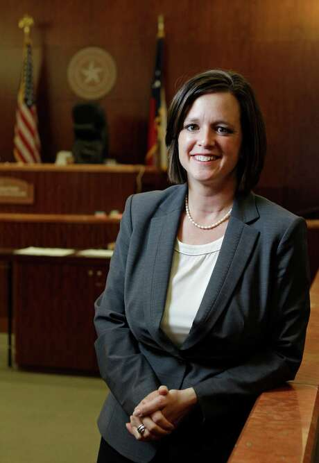 Houston prosecutor Ann Johnson is a human trafficking specialist. Photo: Melissa Phillip, Staff / © 2013  Houston Chronicle