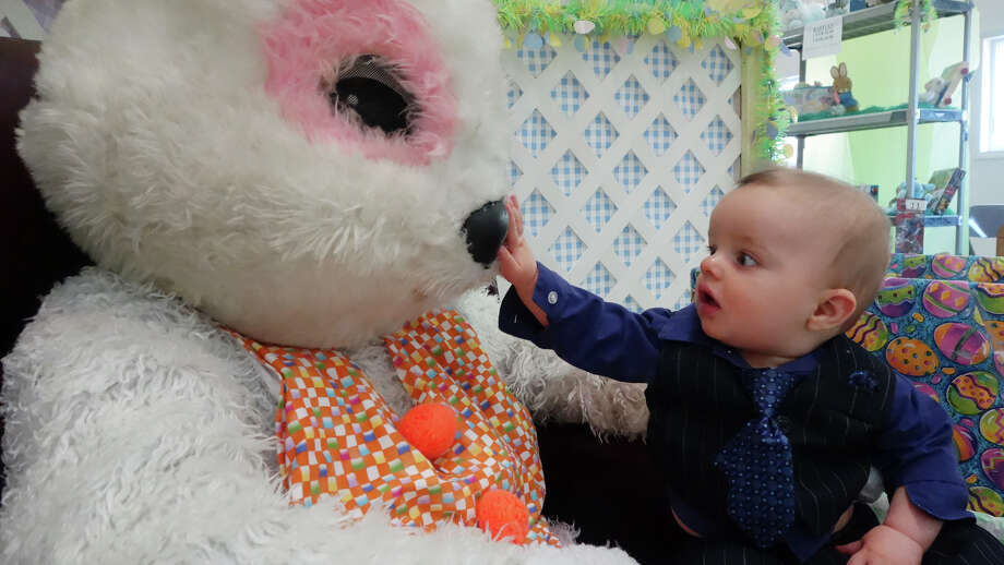 Easter Bunny in MilfordThe Easter Bunny will be in Milford from now until April 19th.  Photo: Keelin Daly / Keelin Daly