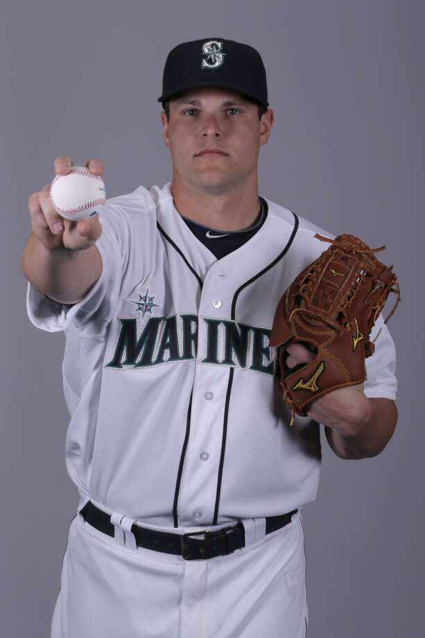 Stephen Pryor | 46 | right-handed pitcherAge: 23 | Birthplace: Donelson, Tenn. | MLB experience: 1 year2012 stats (Mariners): 3-1, 3.91 ERA, 23.0 IP, 0 SV, 22 H, 27 SOSpring stats: 0-0, 1.80 ERA, 10.0 IP, 1 SV, 6 H, 11 SO