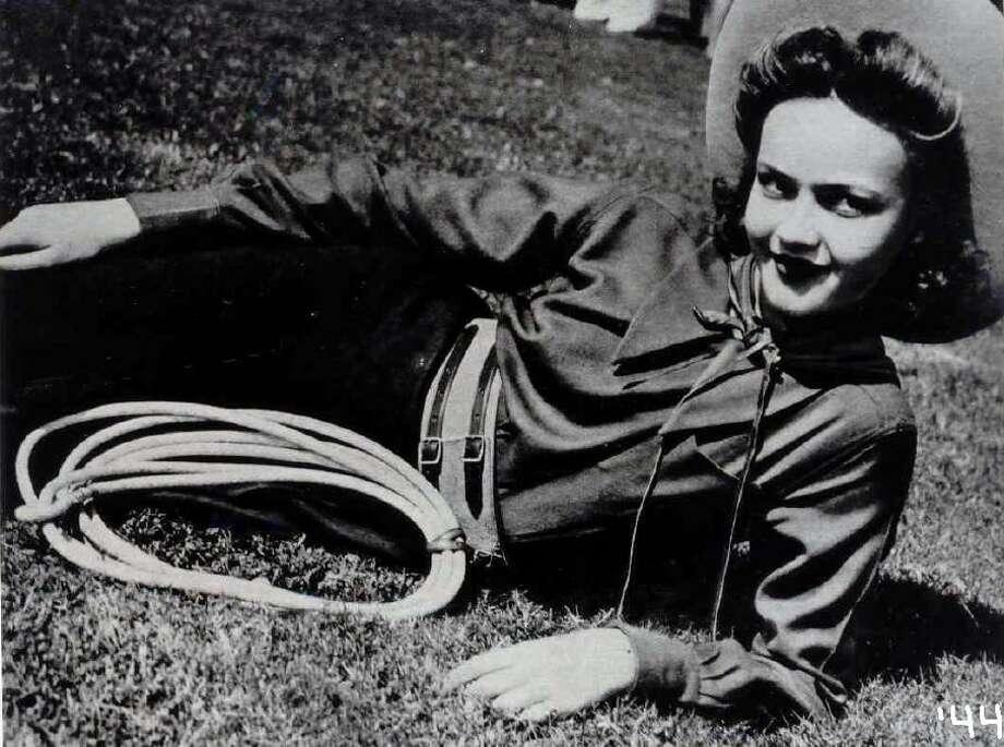 Lasso Dorothy Jean Keel, 1944. Photo: Courtesy Photo, Lasso Alumni Association