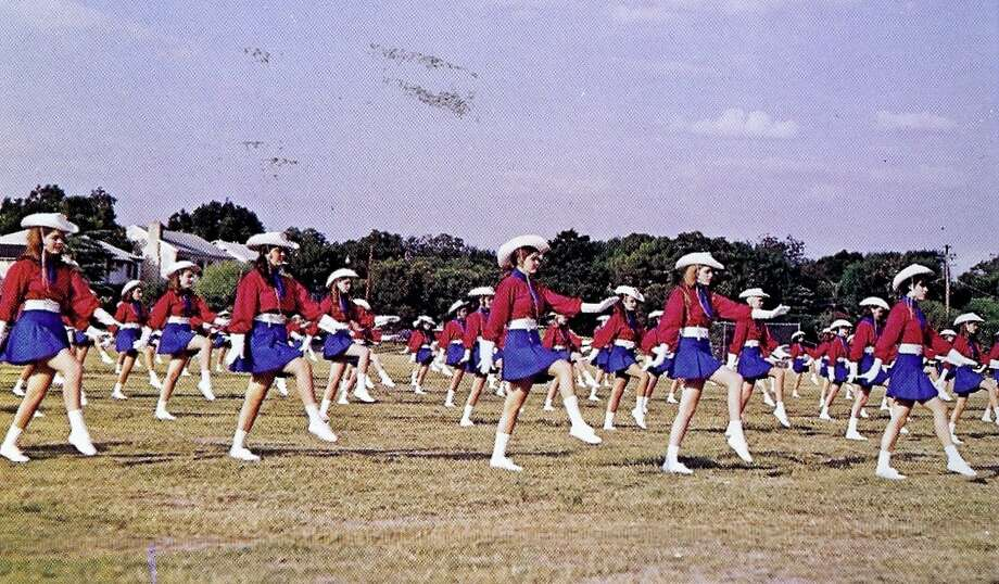 Lassos march on Pony Field at Thomas Jefferson High School, 1970. Photo: Courtesy Photo,      Lasso Alumni Association