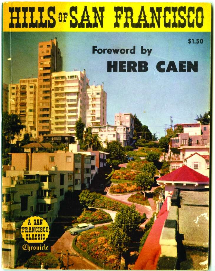 Hills of San Francisco paperback book with introduction by Herb Caen.