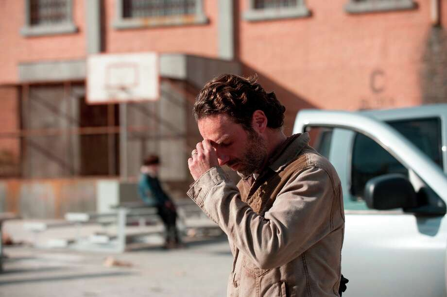Rick Grimes (Andrew Lincoln) - The Walking Dead - Season 3, Episode 16 - Photo Credit: Gene Page/AMC Photo: Gene Page