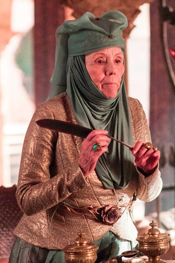 Diana Rigg joins the Game of Thrones cast as Lady Olenna Tyrell.