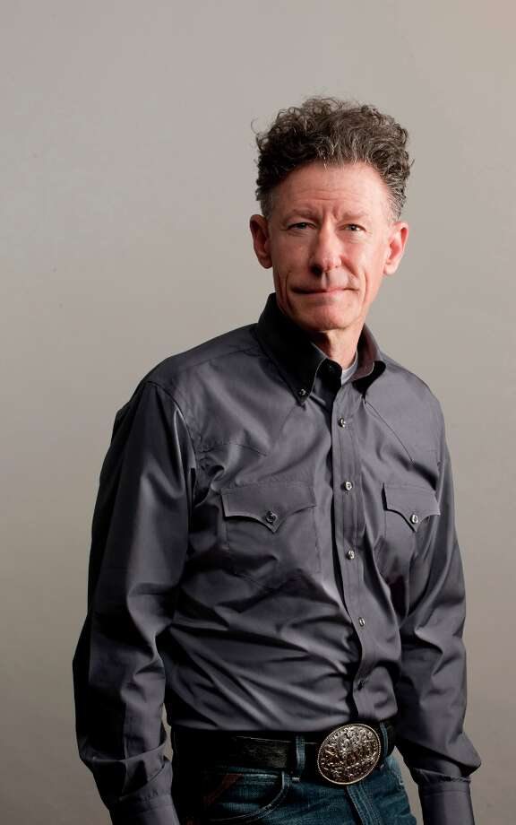 Lyle Lovett wears the Western shirt (in gray) that he designed for the Lyle Lovett for Hamilton Shirts line, which hits stores in September.