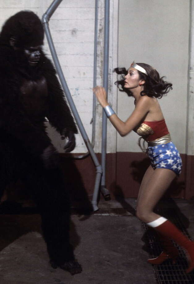 Wonder Woman vs. Gargantua - Airdate: December 18, 1976. Photo: ABC Photo Archives, ABC Via Getty Images / 2010 American Broadcasting Companies, Inc.