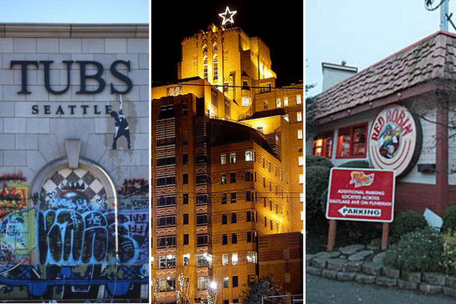 Every city has its famous empty buildings, many with a long, storied history before becoming office ghost towns or the spooky house on the block.With the flurry of work going on at the aging buildings in Magnuson Park, here's a look at Seattle's prominent and notorious empty buildings.