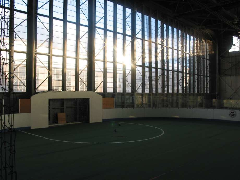 ''Building 2,'' Magnuson Park: Got $27 million? This mostly empty, cavernous former aircraft hangar needs that much renovation to become fit for use. It's a leftover from when the 350-acre park was a naval air station from the 1920s to 1970s. The hangar, which used to house Arena Sports, will soon get a new roof and be ready for a buyer. Building 2 is part of a bunch of old buildings seeking new life at Magnuson - some are being mothballed, while others, like Building 30, are getting a big makeover. Read more here.