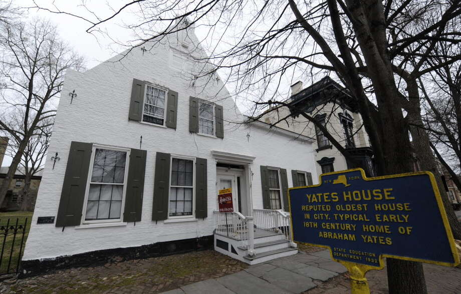 The historic Yates House in Schenectady, N.Y. on April 12, 2011. (Skip Dickstein / Times Union)