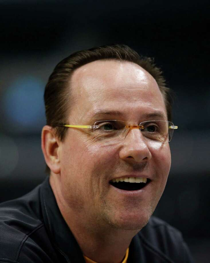 Wichita State head coach Gregg Marshall during practice for a West Regional semifinal game in the NCAA college basketball tournament in Los Angeles, Wednesday, March 27, 2013. Wichita State plays La Salle Thursday. (AP Photo/Jae C. Hong) Photo: Jae C Hong, STF / AP
