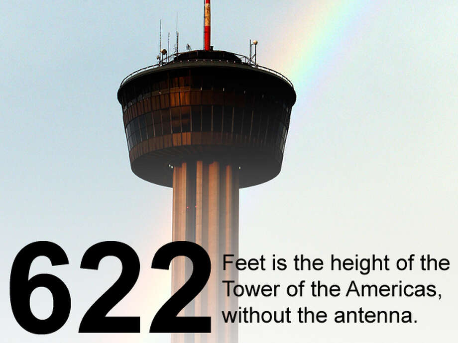 A rainbow appears behind the Tower of the Americas after storms moved through the area July 6, 2009. Edward A. Ornelas / San Antonio Express-News Photo: San Antonio Express-News Photo Illustration
