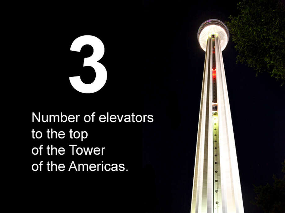 The elevator to the top of the Tower of the Americas is seen on June 18, 2012. Xelina Flores-Chasnoff / For the San Antonio Express-News Photo: San Antonio Express-News Photo Illustration