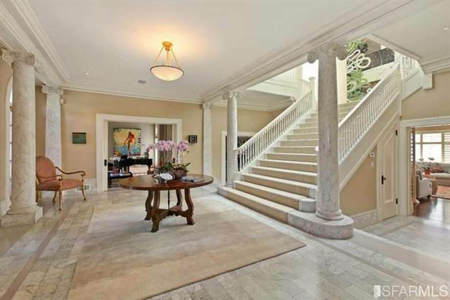Super grand entry. Estately via SFMLS / TRI Coldwell Banker