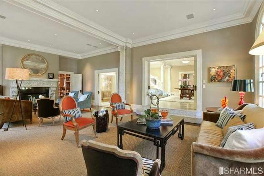 Living room. Estately via SFMLS / TRI Coldwell Banker
