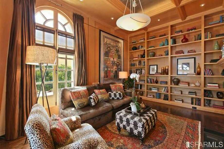 Another view of library. Estately via SFMLS / TRI Coldwell Banker