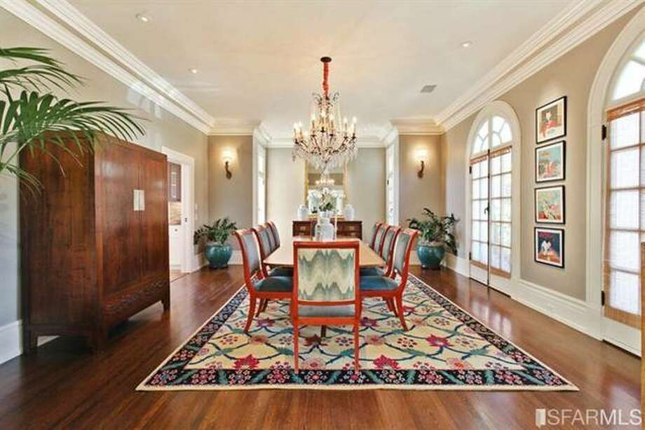 Formal dining room. Estately via SFMLS / TRI Coldwell Banker