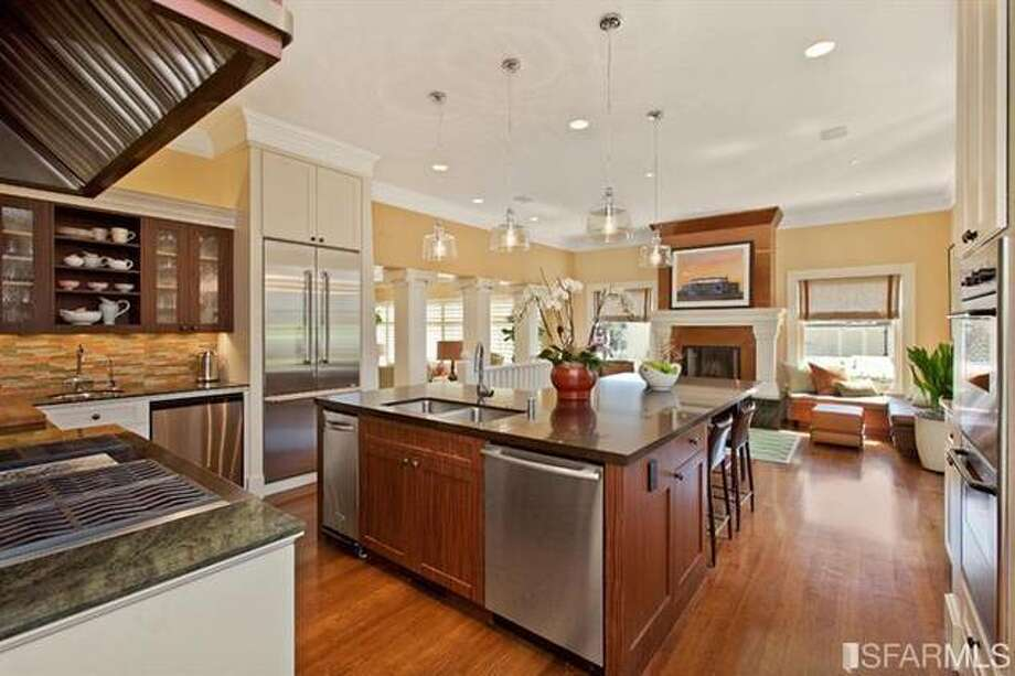 Light, bright kitchen. Estately via SFMLS / TRI Coldwell Banker