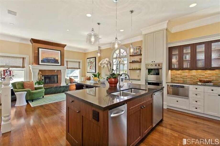 Closer view of kitchen. Estately via SFMLS / TRI Coldwell Banker
