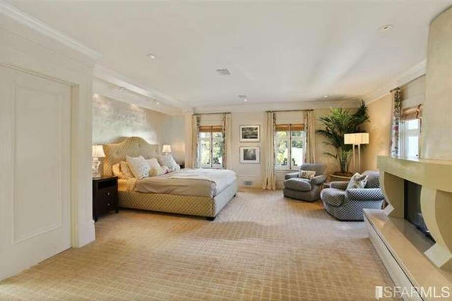 One of many bedrooms. Estately via SFMLS / TRI Coldwell Banker
