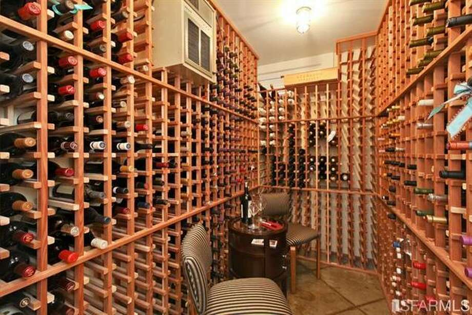 Wine cellar. Estately via SFMLS / TRI Coldwell Banker