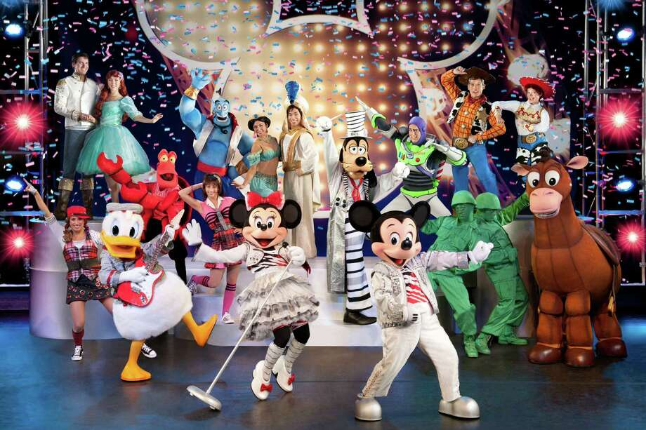ìDisney Live! Mickeyís Music Festivalî stops at Bridgeportís Webster Bank Arena on Saturday, April 13. Photo: Contributed Photo