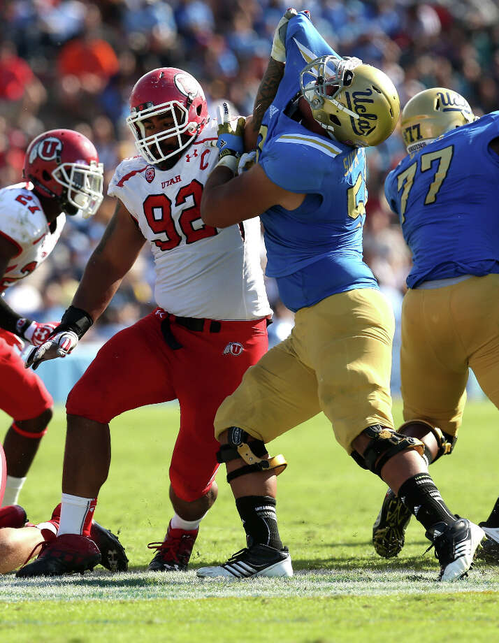 11. San Diego - Star Lotulelei, DT, UtahHe's the best defensive player remaining on their draft board. Photo: Stephen Dunn, Getty Images / 2012 Getty Images