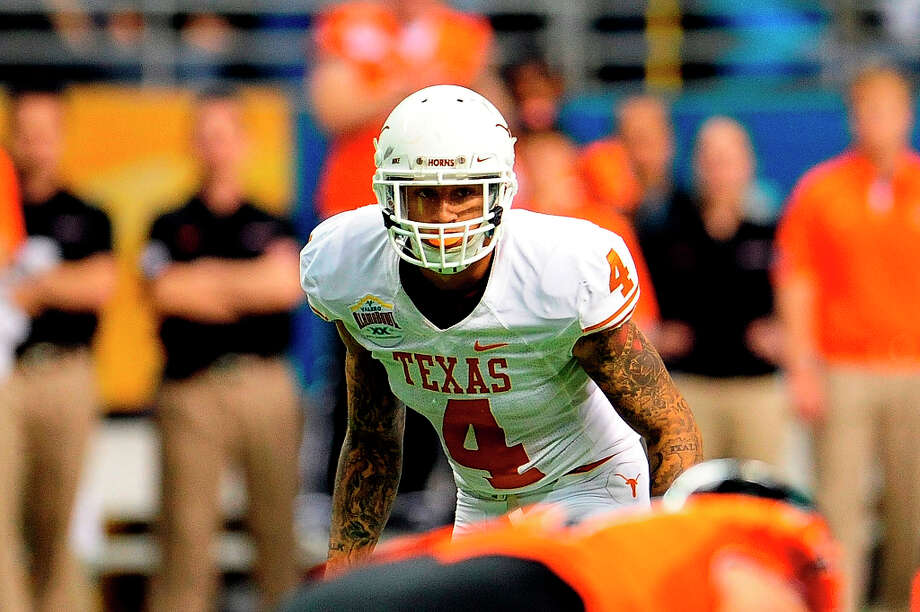 18. Dallas - Kenny Vaccaro, S, TexasJerry Jones needs a safety, but he could go with an offensive lineman. Photo: Stacy Revere, Getty Images / 2012 Stacy Revere