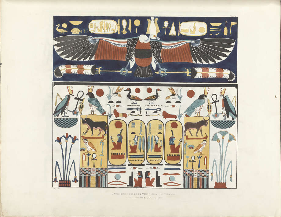 A 2,000-year walk through ancient Egypt will be featured in ìEchoes of Egypt: Conjuring the Land of the Pharaohs,î on view Saturday, April 13, through Jan. 4. at the Yale Peabody Museum of Natural History in New Haven. The show will feature more than 100 objects and works of art. Photo: Contributed Photo / Connecticut Post Contributed