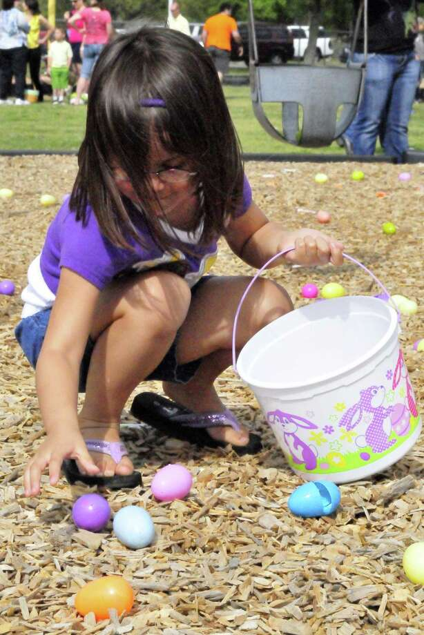 Easter extravaganza in Bridgeport The event at Wentfield Park on April 12 features Easter Egg hunt for all ages of kids, free food, music, live  entertainment, games: egg toss, sack race games and dancing with the  Easter bunny, free Easter bags with goodies.Find out more.  Photo: Cassie Smith