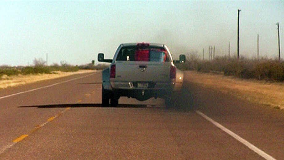 smoking truck Photo: .