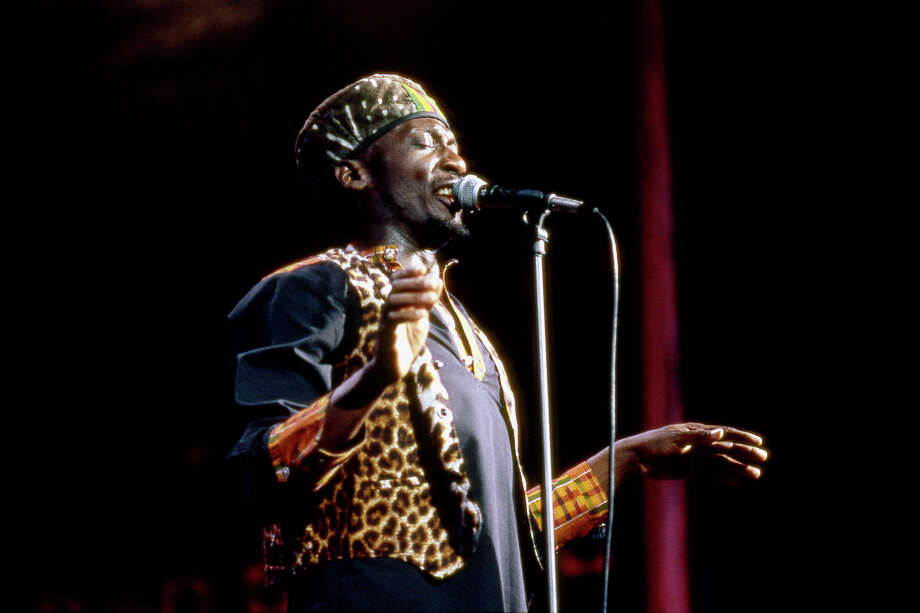Jimmy Cliff performing at Madison Square Garden in 1993. Photo: David Corio, Redferns / Redferns