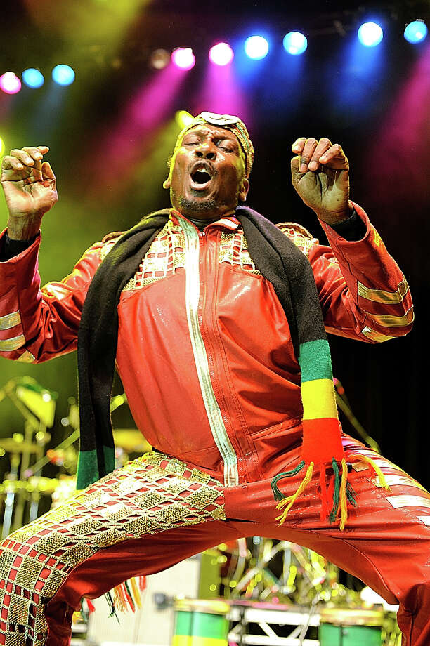 Jimmy Cliff performs on stage during Respect Jamaica 50th anniversary celebrations at Indigo2 at O2 Arena on August 6, 2012 in London. Photo: Gus Stewart, Redferns Via Getty Images / 2012 Gus Stewart