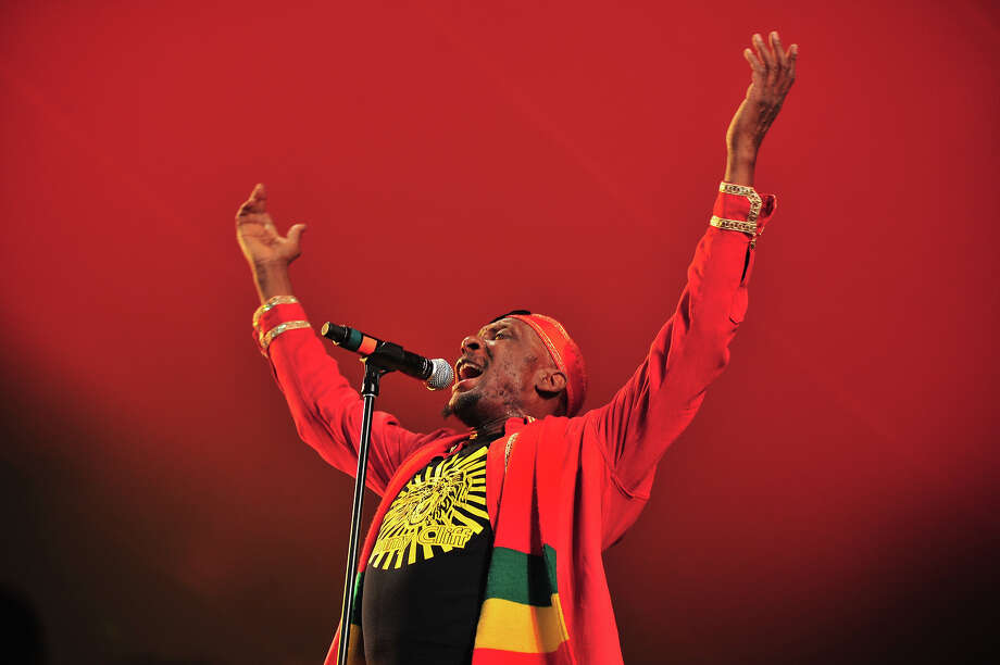 Jimmy Cliff performs on stage at Womadelaide 2013 at Botanic Park on March 10, 2013 in Adelaide, Australia. Photo: Leon Morris, Redferns Via Getty Images / 2013 Leon Morris