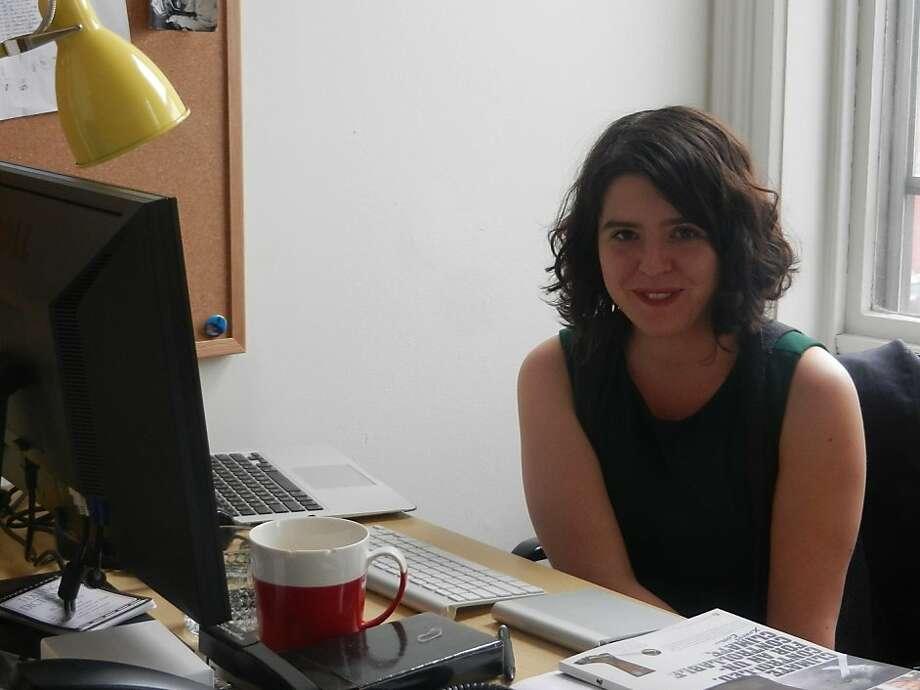 Reyhan Harmanci is deputy editor of the new quarterly magazine. Photo: Jesse Hirsch