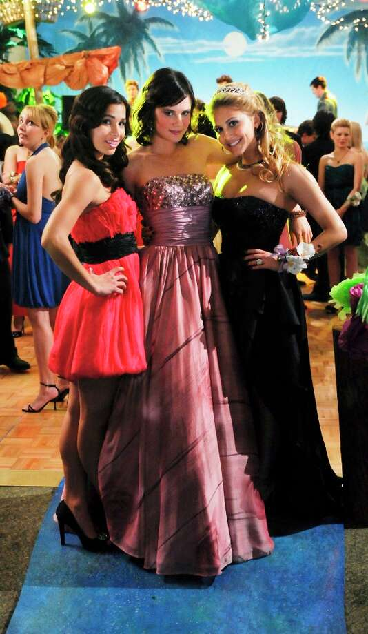 Save The Last Dance - The Rock girls get a little taste of normal teenage life when they go to Payson's prom in Save The Last Dance, on ABC Family's Make It or Break It in 2009. Photo: Richard Foreman, ABC Family Via Getty Images / 2009 Disney Enterprises, Inc.