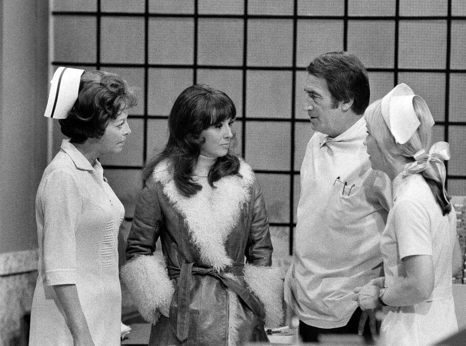 Emily McLaughlin, Denise Alexander, John Beradino, Shelby Hiatt, March 8, 1973. (Photo by ABC Photo Archives/ABC via Getty Images) Photo: ABC Photo Archives, ABC Photo Archives/Getty Images / 2011 American Broadcasting Companies, Inc.