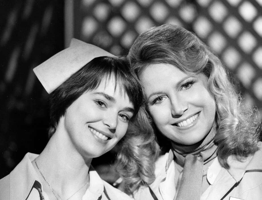 Anne Helm and Leslie Charleson, April 14, 1978. (Photo by ABC Photo Archives/ABC via Getty Images) Photo: ABC Photo Archives, ABC Photo Archives/Getty Images / 2011 American Broadcasting Companies, Inc.