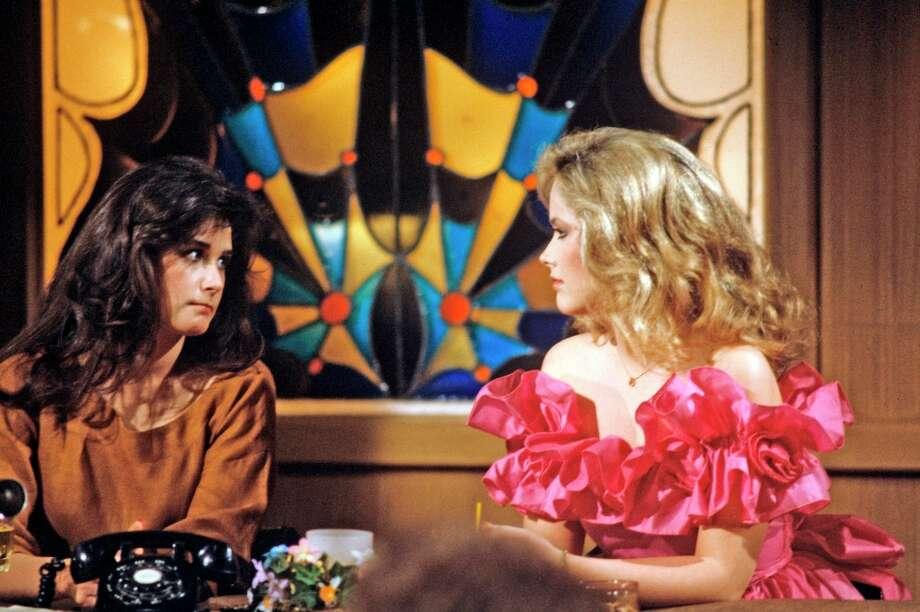 Demi Moore and Janine Turner, 1982. Photo: Erik Hein, ABC Via Getty Images / 2011 American Broadcasting Companies, Inc.