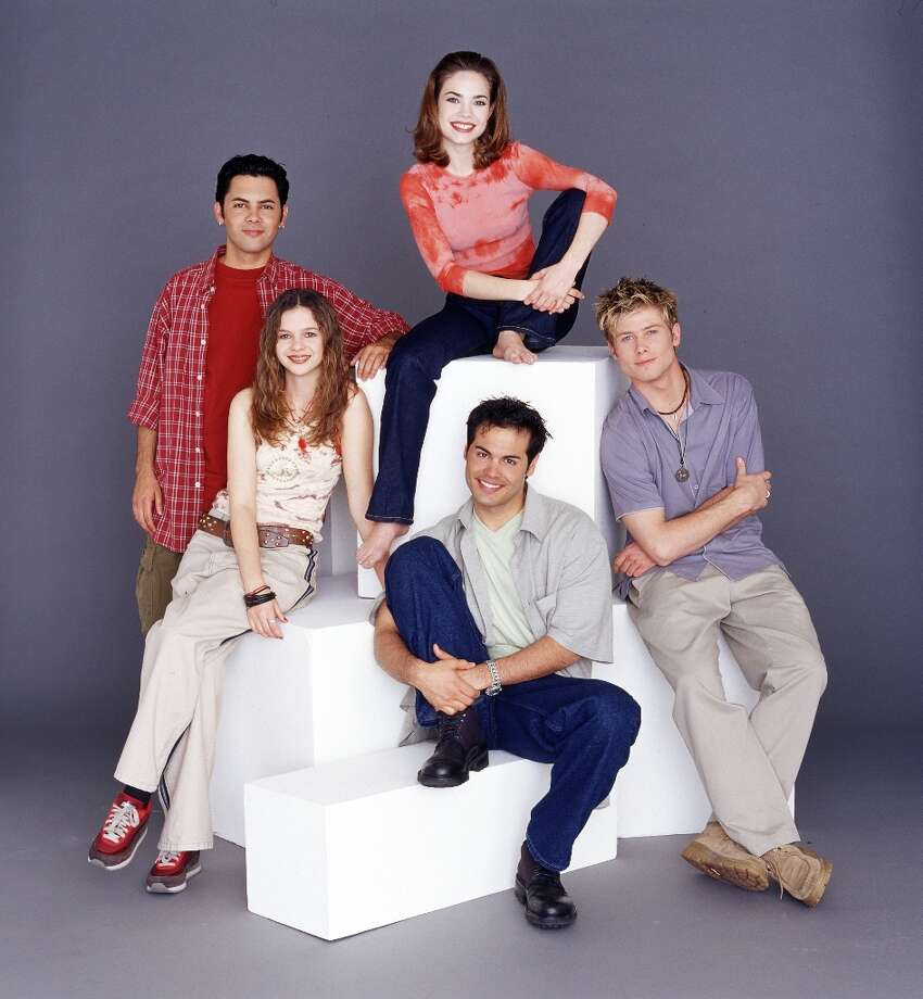Michael Saucedo, Rebecca Herbst, Jacob Young, Coltin Scott, Amber Tamblyn in 2000. Photo: Jeff Katz, ABC Via Getty Images / 2010 American Broadcasting Companies, Inc.
