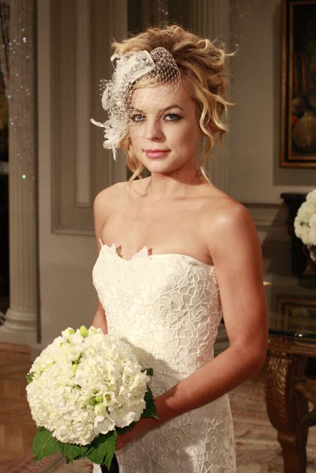 Kirsten Storms (Maxie)  in a scene that airs the week of September 21, 2009. (Photo by Ron Tom/ABC via Getty Images) K Photo: Ron Tom, ABC Via Getty Images / 2009 American Broadcasting Companies, Inc.