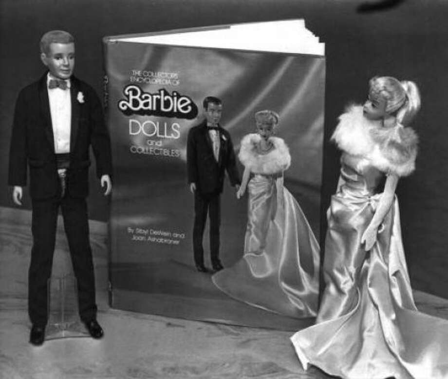 She and Ken, a couple since 1961, were dolled up in evening wear in 1983.