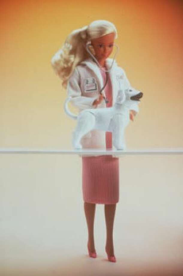 1985 also saw Barbie become a veterinarian.